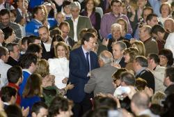 Cospedal y Rajoy, en Albacete.