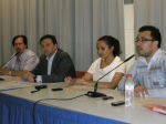 José Luis Teruel, en el debate electoral.