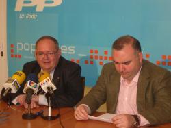 Dimas Cuevas y Constantino Berruga.