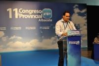 El presidene del PP de Albacete, Francisco Núñez.