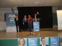 Acto electoral en Fuenteálamo.