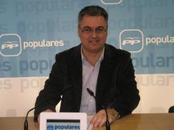 Fermín Cerdán, en la sede provincial.