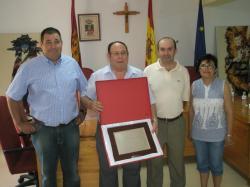 Grupo de concejales del PP en el Ayuntamiento.