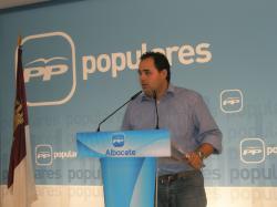 Fransico Núñez, en la sede provincial.