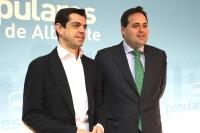 Javier Cuenca y Francisco Núñez en rueda de prensa.
