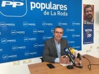 Vicente Aroca, portavoz del Área de Bienestar Social en el Grupo Popular.