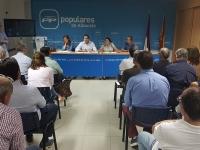 Comité Ejecutivo Provincial del PP de Albacete.