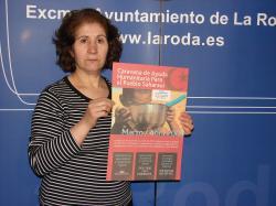 Isabel Mariano, representante de la Asociación de Amigos del Pueblo Saharaui en La Roda