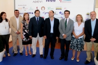 Inauguración de la carpa ferial de FEDA en Villarrobledo.