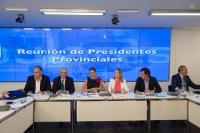 El Gobierno de España explicó a los presidentes provinciales del PP sus previsiones para 2013.
