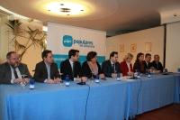Rueda de prensa del comité de dirección del PP de Albacete.