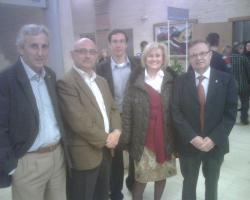 Sixto González, Gómez Trinidad, Carmen Bayod, Guerrero y Fdo Carreño.