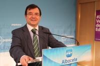Francisco Molinero en rueda de prensa.