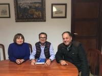Carmen Laserna, Antonio Martínez y Francisco Garrido.