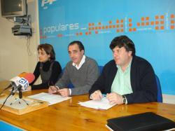 Sonia Martínez, Manuel Mínguez y Antonio Serrano.