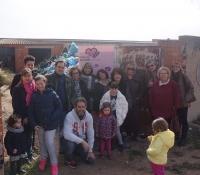 Acto solidario de Mujeres en Igualdad de Almansa.