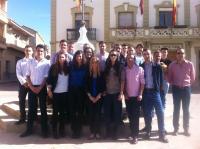 Reunión de jóvenes del PP en Fuentealbilla este fin de semana.