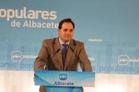 Paco Núñez, viceportavoz del GPP y presidente del PP de Albacete.