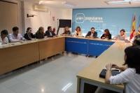 Reunión de la Comisión Regional de Bienestar Social en Albacete.