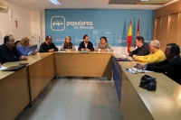 Reunión de la Comisión Provincial de Educación del Partido Popular.