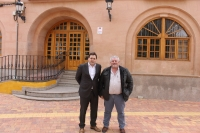 Francisco Núñez y Ginés Moreno, en Fuenteálamo.
