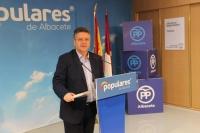 Juan Antonio Moreno, portavoz de Sanidad del PP-CLM.