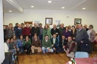 Reunión con afiliados de Yeste.