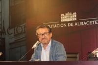 Antonio Martínez, portavoz del Grupo Popular en la Diputación de Albacete.