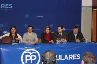 Cospedal, en la junta directiva provincial del PP de Albacete.
