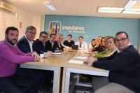 Reunión del comité de dirección, presidido por Paco Núñez.