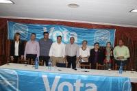Francisco Núñez, junto a la candidatura de Ossa de Montiel.