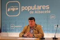 Antonio Serrano, alcalde de Peñas de San Pedro.