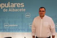 Bernardo Ortega, viceportavoz del PP de Albacete.