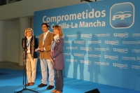 Carmen Bayod, Arturo Romaní y Ana Guarinos.