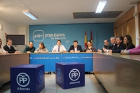 Comité de Dirección del Partido Popular de Albacete.