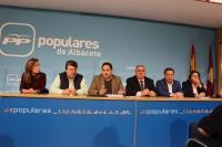 Junta directiva provincial del PP de Albacete.