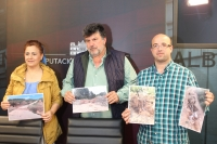 Antonio Serrano, junto a María del Carmen Álvarez y Luis Dionisio Pérez.