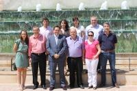 Reunión de trabajo en La Roda.