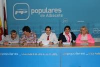 Comité Ejecutivo Provincial, en la sede del Partido Popular.