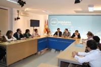 Comisión de Sandidad y Bienestar Social del PP.
