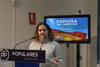 Miriam García, secretaria provincial de NNGG Albacete.