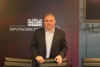 Constantino Berruga, viceportavoz del PP en la Diputación de Albacete.