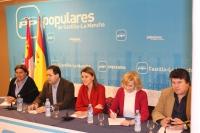 Encuentro de Cospedal con alcaldes del PP.