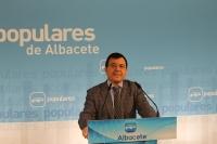Francisco Molinero, en la sede provincial del PP.