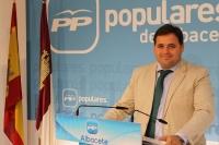 Francisco Núñez, en la sede provincial del PP.