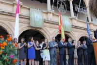 Inauguración en la Plaza de Villarrobledo.