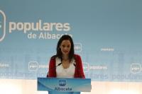 María Delicado, en la sede provincial.
