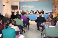 Reunión del comité de Alcaldes del PP de Albacete.