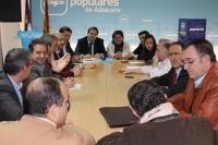 Reunión del comité de dirección del PP de Albacete.