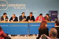 Junta directiva provincial del PP.